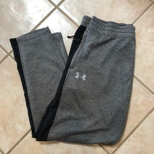Under Armour sweatpants with zipper pockets XL
